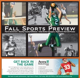 2013 Fall Sports Preview.indd